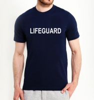 Футболка мужская LIFEGUARD синий